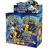 """Pokemon XY12 """"Evolutions"""" Booster Caja de Presentación: 36 Paquetes = 360 Tarjetas Adicionales para Pokemon TCG (Inglés)"""