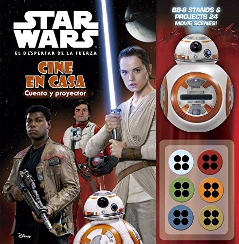 Star Wars. El despertar de la fuerza. Cine en casa: Cuento y proyector