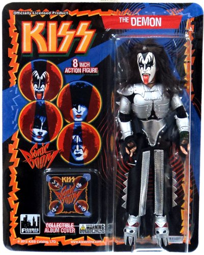 Kiss Series 3 Sonic Boom - The Demon Gene Simmons 22cm Figur (Gene Simmons Figur)