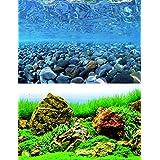 WAVE Vision Blister Fond Double pour Aquariophilie 60 x 150 cm