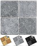 24 stück Fliesenaufkleber für Küche und Bad (Tile Style Decals 24xNTP 08 -4