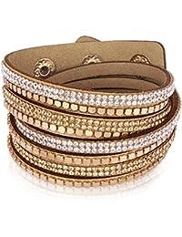 Rafaela Donata - Bracelet enroulé - Velours résine, bracelet résine - 60917106