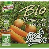 Knorr Bouillon de Légumes Bio 6 x 11 g