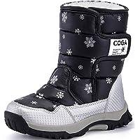 SAGUARO Bambini Ragazza Stivali da Neve Inverno Stivaletti Pelliccia Boots Impermeabile Stivali