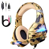 Comfortable PS4 Gaming Headset, Professional 3.5mm Headset with Rotatable, Noise Reduction Mic for PS4, Nintendo Switch…