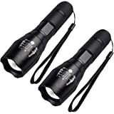 FAGORY LED Torch 2000 Lumens, Maxesla Torches Led Super Bright Flashlight, Powerful Torches Battery Powered Water Resistant 5