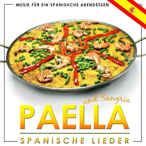 Musik für ein spanisches Abendessen. Paella und Sangria spanische Lieder Hotel Abendessen