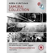 Kurosawa The Samurai Collectio - Kurosawa: The Samurai Collection (4 Blu-Ray) [Edizione: Regno Unito] [Edizione: Regno Unito]