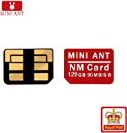 NM Card 128G 90MB/S Nano Memory Card Mirco SD Card Compact Flash Card, only Suitable for Huawei P30 Series and Mate20 Series(