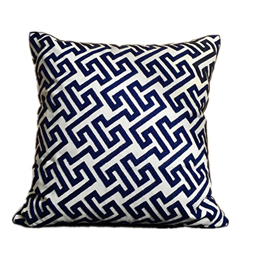 cushionliu-moderno-minimalista-i-shaped-tela-di-cotone-ricamo-filato-divano-cuscino-457-x-457-cm-blu