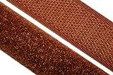 dalipo 17003 - Klettband zum annähen, 20mm, braun