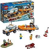 LEGO - 60165 - City - Jeu de Construction - L�unité d�intervention en 4x4