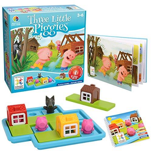 Smartgames SG 019-Spiel Three Little Piggies - Piggy Italienisch
