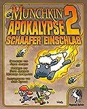 Pegasus Spiele 17241G - Munchkin Apokalypse 2, Schaafer Einschlag