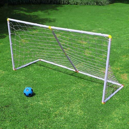 PorteriasdeFutbol con Una Pelota JuegodeFutbol Portatil Desmontable MiniPorteriasFutbol Juguetes de Exterior para Niños Chicos