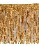 11cm Fransen mit eingeflochtenem Metallfaden für einen schönen Glanz