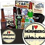 I love Nürnberg | Mann Geschenkset | Geschenk Idee | I love Nürnberg | Männer Box | Nürnberg Geburtstagsüberraschung | INKL DDR Kochbuch