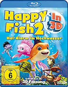 Happy Fish 2 - Hai-Alarm im Hochwasser (3D Blu-ray)