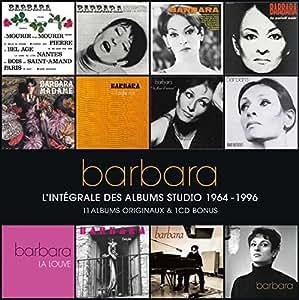 Barbara : L'intégrale des albums studio, 1964-1996 (Coffret 12 CD)