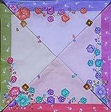 higadget Women's Cotton Collection Handkerchiefs (Random Color, Free Size) -Pack of 12