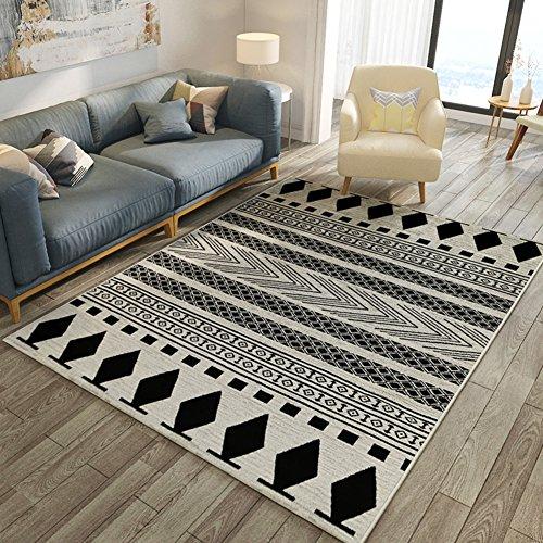 Preisvergleich Produktbild Nordischer teppich maschinenwaschbarer teppich schlafzimmer decke für schlafzimmer rechteckige teppichböden matte der teppich für das wohnzimmer-D 130x190cm(51x75inch)