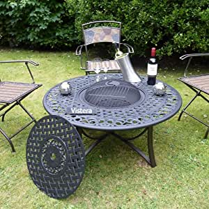 Bloomsbury fire pit table garden outdoors for Amazon prime fire pit