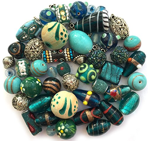 mixed-pack-of-handmade-turquoise-jewellery-making-beads