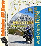 Adventure Motorrad Touren durch Kroatien mit der BMW 1200 GS (inkl. SD Karte für BMW Navigator und Garmin )