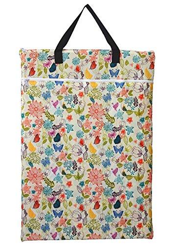 Groß zum Aufhängen Nass/Trocken Tuch Windel, die Sie Tasche für Wiederverwendbare Windeln oder Wäschebox Bloom