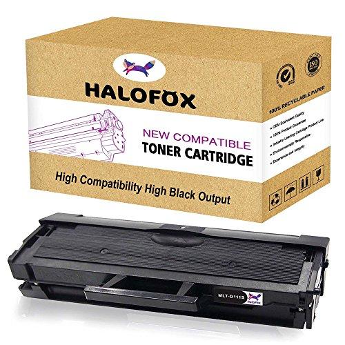 HaloFox 1 Cartouches de Toner MLT-D111S pour Samsung Xpress M2078W M2071W M2071 M2070 M2070F M2070W M2070FH M2070FW M2070HW M2071HW M2071FH SL-M2026W SL-M2026 M2022 M2022W M2020 M2020W M2021W M2021 Series Imprimante