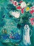 Marc Chagall 2018: Großer Kunstkalender. Wandkalender mit Werken des Künstlers Marc Chagall. Kunst Gallery Format: 48 x 64 cm, Foliendeckblatt - Korsch Verlag