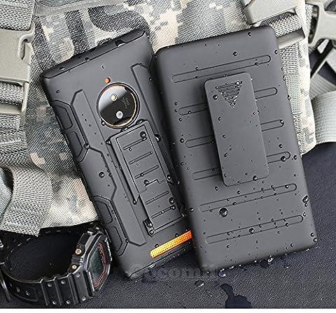 Nokia Lumia 830 Schutzhülle, Cocomii® [HEAVY DUTY] Nokia Lumia 830 Robot Case **NEUE** [ULTRA ZUKUNFT RÜSTUNG] Premium Gürtelclip-halfter Ständer Hülle [MILITARY DEFENDER] Voller Körper Robuste Dual Layer Hybrid Schutzabdeckung Cover Bumper Case [COCOMII GARANTIE] ::: Der Ultimative Schutz Vor Stürzen Und Auswirkungen Für Ihr Nokia Lumia 830 ::: ★★★★★