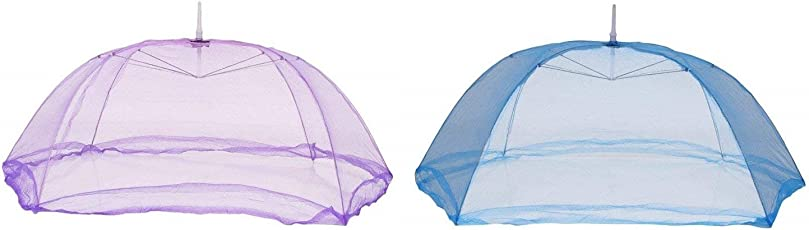 Cloudaby 6 Strings Strong Mosquito net for Baby(0 to 12 Months) (Pack of 1) Colour May Vary