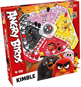 Tactic 56059 Angry Birds - Kimulo, diseño de pájaros, Multicolor