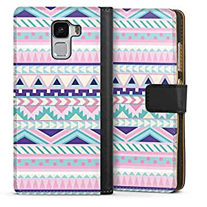 Deindesign Huawei Honor 7 Tasche Leder Flip Case Amazon De Elektronik