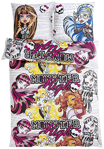 MONSTER HIGH Kinder Renforcé Bettwäsche