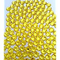 HOTFIX Citrine Yellow Crystal Rhinestones Flatback 144 SWAROVSKI 3.9mm 16ss ss16