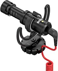 (CERTIFIED REFURBISHED) Rode VIDEOMICRO Compact On-Camera Microphone with Rycote Lyre Shock Mount (Black)