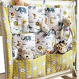 Kinderzimmer Hängender Bett Organizer, Windeln Babybetttasche Spielzeugtasche (Tiere)