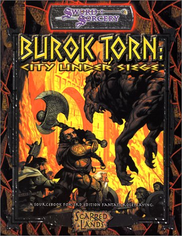 Burok Torn: City Under Seige: City Under Siege (d20 Generic System S.) (City Under Seige)