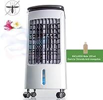 Newteck - Climatizador Portátil Frío Fresh Essence, Ventilador de Torre con Aromatización del Aire, 3 Velocidades,...