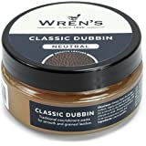 Wren's Old Dubbin Classic, traditional nourishment and waterproofing grease paste for smooth, grained and oiled leather, qual