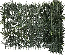 Euro castor green HaieBambou - Seto de bambú artificial de pvc 300 x 12 x 100 cm