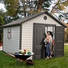 Caseta de jardín Lifetime 285 x 335 x 335 cm | LIFETIME 6433