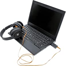 Oxyura Usb Sound Card Audio Adapter With Mic (Plug n Play)
