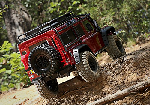 Traxxas TRX-4 Land Rover Defender Rouge TRX82056