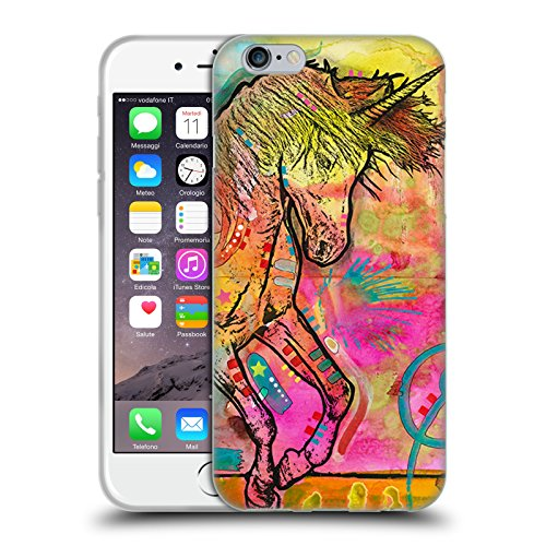 Head Case Designs Offizielle Dean Russo Einhorn Popkultur Soft Gel Hülle für Apple iPhone 6/6s