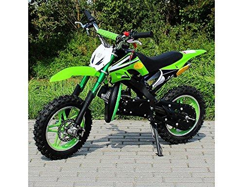 Mini cross mini moto nuova modello orion 49cc 2 tempi mono marcia pocket dirt bike: gas regolabile + avviamento in alluminio + ruote 10