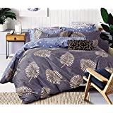 California Bedsheet Queen Size (3 Piece Combo Set Of Double Queen Size Bedsheets With 2 Pillow Covers)