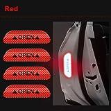 Car Door Reflective Warning Sticker (Red)